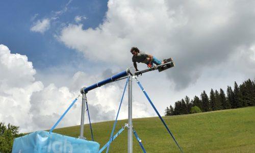 Highloop, Riesenschaukel, Überschlag, hoch hinaus, Action, Fun