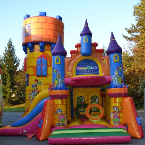 Hüpfburg, Schloss, aufblasbar, klettern, rutschen, hüpfen,Kinder, Rutsche