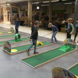 Mobile Minigolfanlage, Sport, Sommer, Challenge, transportierbar, Minigolf, Ballspiel
