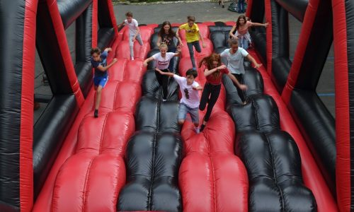 5k running inflatables, 5K