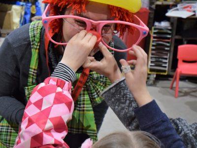 Clown Kostüm Kinder Spaß Unterhaltung