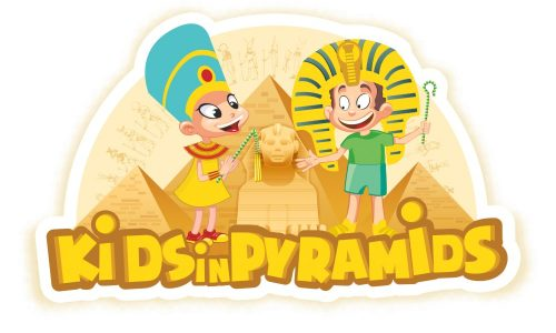 Kids in pyramids logo