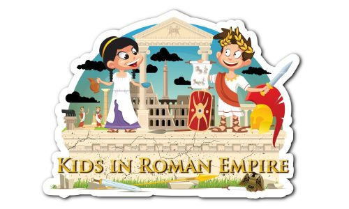 Logo kids in roman empire