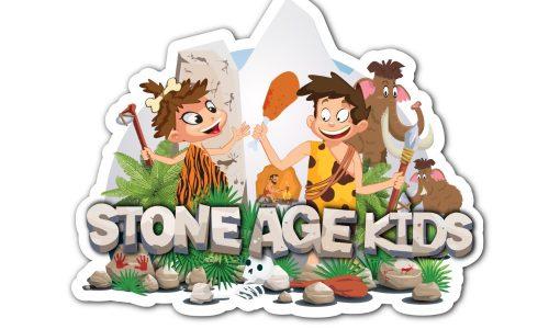 Logo stone age kids