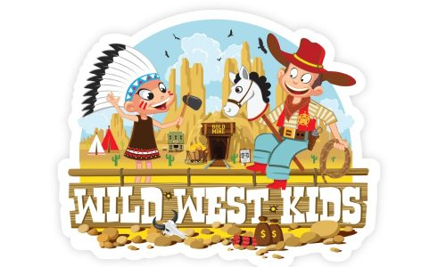 Logo wild west kids