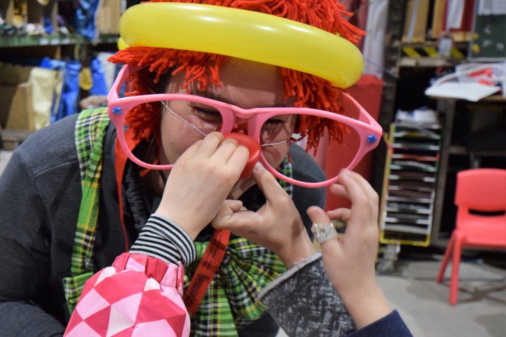 Kinderanimation clown