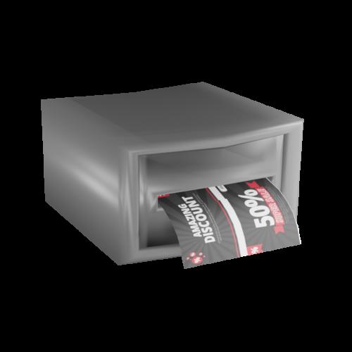 3D Illustration eines Bondruckers