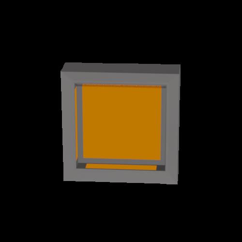 3D Illustration eines QR Code scanners